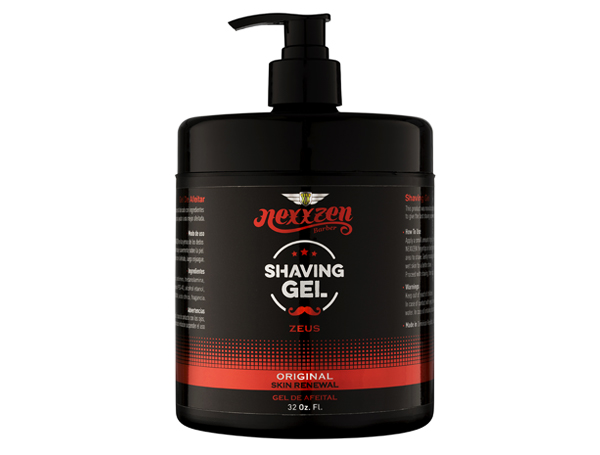 Nexxzen Shaving Gel Zeus - Original 32 oz