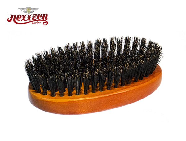 Nexxzen Reinforced Boar Oval Palm Brush