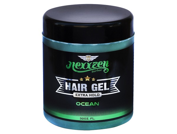 Nexxzen Hair Gel Extra Hold – Ocean 32 oz #NZG032-OC